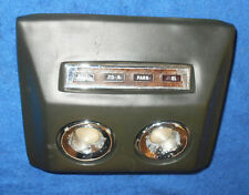 1967 1968 Mercury Cougar XR7 GT XR7-G GTE ORIG IVY GOLD OVER HEAD ROOF CONSOLE