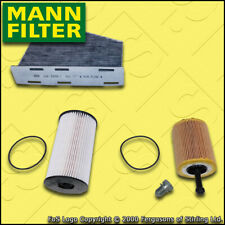 SERVICE KIT for VW PASSAT (3C) 2.0 TDI MANN OIL FUEL CABIN FILTERS (2005-2010)