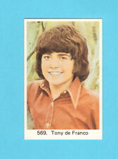 The DeFranco Family Tony Vintage 1970s Pop Rock Music Card from Sweden #569