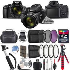 Nikon COOLPIX P900 Digital Camera + Spider Tripod + Monopad + Case - 32GB Bundle