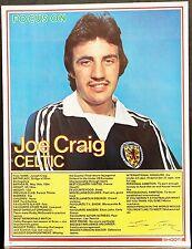 Jugador de fútbol enfoque Joe Craig Celta disparar