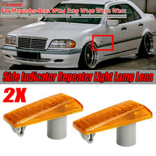 2x Amber Side Light Repeater Indicator for Mercedes S SL Class W140 R129 5014196