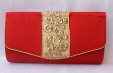 Rich Border Clutch Silk Purse Evening Party Fashion Wedding Wallet India Ethnic4