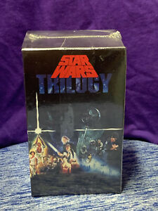 Star Wars Trilogy 3-Tape BOX Set (VHS,1992) Factory Sealed NEW MUST SEE👀