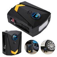 12V Electric Car Tyre Inflator Pump Digital Portable Tyre Air Compressor Pump UK