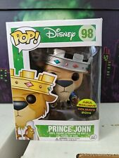 Funko Pop Figure Disney NYCC Prince John Silver Platinum Asia Exclusive 2014
