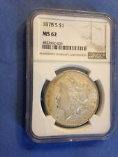 1878-S  Morgan Dollar NGC MS 62
