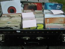 "JOB LOT 40 X 7"" SINGLES - 60's 70's 80's- GRADES G-VG+ - ALL BAGGED - POST FREE"