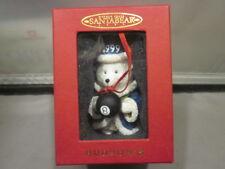HUDSON'S 1999 SANTA BEAR with MAGIC 8 BALL - BRAND NEW IN BOX CHRISTMAS ORNAMENT