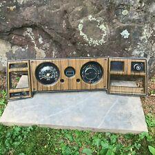 1973 - 1977 Chevrolet GMC Van Instrument Cluster w/ bezel G10 G20 G30 LOW MILES