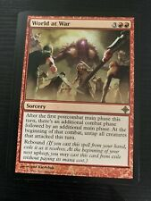 MTG Rise of the Eldrazi WORLD AT WAR Never Played NM/M ROE