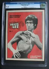 LEGEND OF BRUCE LEE 1 Photo cover 1983 B&W Nostalgia Comic Magazine CGC NMMT 9.8