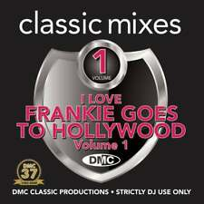DMC I Love Frankie Goes To Hollywood Continuous Mixes Two Trackers Remixes DJ CD