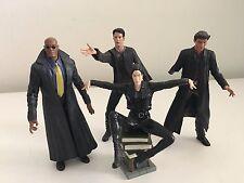 Matrix Figures Lot N2 McFarlane Neo Morpheus Trinity Harry Potter Book Stack