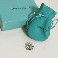 Tiffany & Co. Daisy Flower Pendant Top Sterling Silver 925