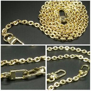 Gold Crossbody Shoulder Strap Oval Chain For Favorite Pochette Eva Felicie Alma