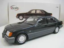 Mercedes-Benz S 500 (Typ W140)  Limitiert 750 Stück  iScale  Maßstab 1:18  NEU