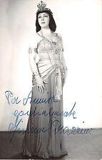 B22461 Miriam Mazzini Vrais Autograph photo