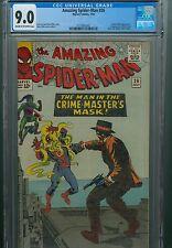 Amazing Spider-Man 26 CGC 9.0 Green Goblin Mary Jane 1st Crime Master Homecoming