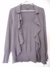 Banana Republic Purple Womens wool/cashmere blend wrap sweater Size M