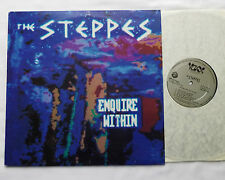 The STEPPES Enquire within USA Orig LP VOXX VXS 200.058 (1989)garage psych EX/NM