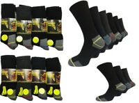 MENS WORK SOCKS ULTIMATE REINFORCED HEEL TOE BUILDERS BOOT WINTER BIG UK LOT