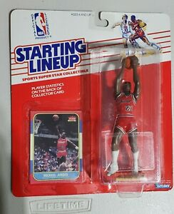 Michael Jordan rookie card Starting Lineup Custom SLU Reseal