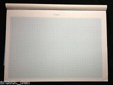 Graph Paper Pad a3  1mm grid 25 sheets Graph Pad Grid Pad Maths Pad
