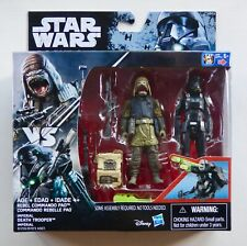 "Star Wars Hasbro 3.75"" Rogue One W1 Commando Pao & Imperial Death Trooper"