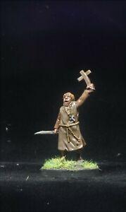Painted Saga Footsore Miniatures Christian Priest 28mm