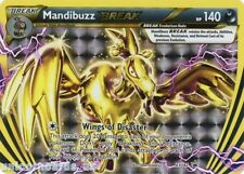 Mandibuzz Break XY182 Promo Holo Mint Pokemon Card