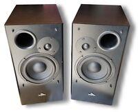 "5"" 2-Way Bookshelf Speaker Pair 200W JungleRoc Audio Vidsonix Compare @ $199 NEW"