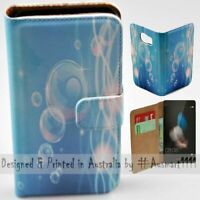 For Huawei Series - Float Bubble Theme Print Wallet Mobile Phone Case Cover