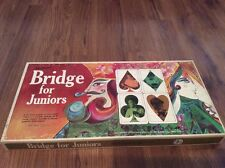 Vintage Bridge For Juniors Game 1967 Selright Complete