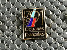 PINS PIN BADGE ARMEE MILITAIRE DOUANES FRANCAISES