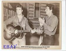 Ricky Nelson plays guitar, Dean Martin VINTAGE Photo Rio Bravo
