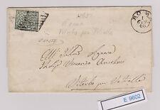 (E9602) Interessanter Brief von 1866  Kirchenstaat