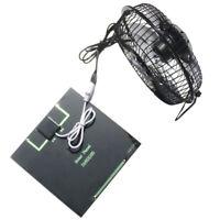 Portable Pannello Solare Con Ventola Pannello Caricabatterie Solare Caricat K6S8