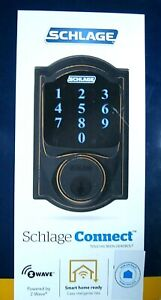 SCHLAGE- Connect BE469WK V CAM 716 - Camelot Touchscreen - Aged Bronze BRAND NEW