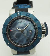 Invicta 13911 Subaqua Noma III Lume Blue Dragon Quartz GMT Mother-Of-Pearl Watch