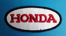 Rare Vintage 1970's Honda Motorcycle Biker Vest Jacket Hat Patch Crest Dirt Bike
