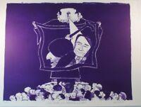Karl Imhof Lithographie 43/60 Rudi Dutschke Gedächtniskirche handsigniert G-1335