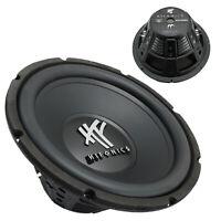 """Single Hifonics HFX12D4BK 12"""" Dual 4 Ohms Dual Voice Coil Subwoofer 800W - NEW"""