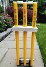 Zee Sports Heavy Duty Spring Loaded Stumps Spring Wickets