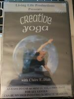 New DVD: Creative Yoga with Claire E Diab - 60 Minutes Living Life Program