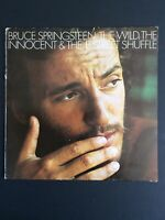 Bruce Springsteen The Wild The Innocent and The E Street Shuffle Vinyl LP Greece