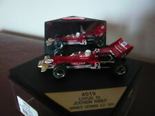 Quartzo, Lotus 72,Jochen Rindt, German Grand Prix winner. 1970. Q4019 1/43 scale