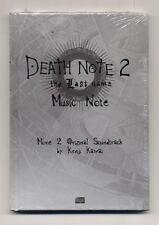 Cd DEATH NOTE 2 The last name NUOVO 2006 Kenji Kawai OST Soundtrack Manga
