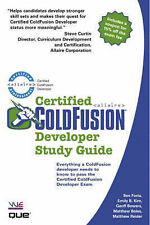 USED (LN) Certified ColdFusion Developer Study Guide by Ben Forta