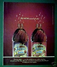 2006 Diet Pepsi-Cola JAZZ Soda-Pop Bottle Strawberries & Cream Print AD